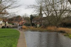 https://flic.kr/p/BK8Z2c | Eynsford Village Kent | The Village Ford created by the River Darent - cars best take the bridge its quite deep -  www.adamswaine.co.uk