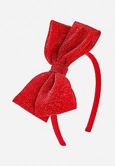 Ruby Tinsel Headband