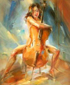 art-and-dream: Artist painter Russian . Anna Razumovskaya