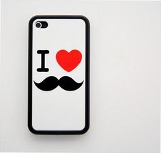 I <3 Mustache iPhone case