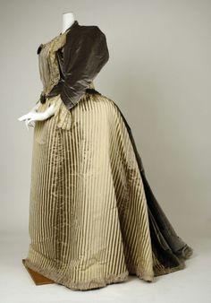 Robe de soie, ca.1893-94