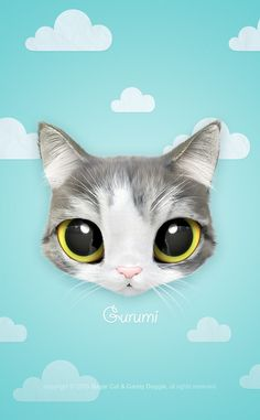 Grey n white kitten wallpapers pinterest white kittens cat iphone 6 cases cute blue iphone 6 plus case girly voltagebd Choice Image