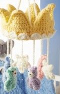 Sleep Tight Royal Mobile Crochet Pattern