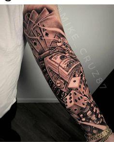 Half Sleeve Tattoos Forearm, Forarm Tattoos, Half Sleeve Tattoos Designs, Cool Forearm Tattoos, Dope Tattoos, Best Sleeve Tattoos, Arm Tattoos For Guys, Leg Tattoos, Chicano Tattoos
