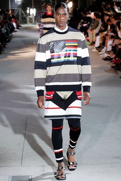 PARIS, Jun --- With Riccardo Tisci embarking a journey from America to Africa in his Givenchy Homme Spring/Summer 2014 collection, it made me wonder o Vogue Paris, Spring 2014, Spring Summer, Summer 2014, Jhon Galliano, Givenchy Women, Givenchy Paris, Fashion Show, Mens Fashion