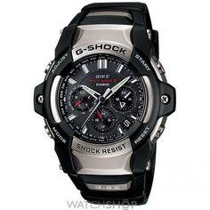 Mens Casio G-Shock Giez Alarm Chronograph Solar Powered Watch GS-1150-1AER