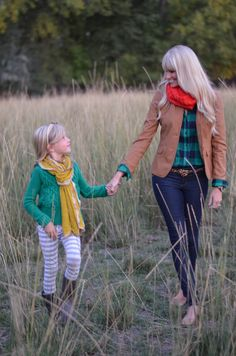 Styling for a fall photo shoot