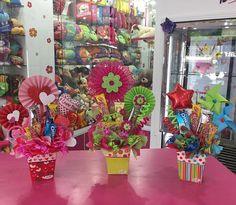 Lindos detalles para obsequiar!!! Disponibles en Tienda #Floristería #Tarjeteria #regalos #peluches #ymas #cagua #calleComercio #dencantos