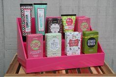 Cardboard Counter Display - Pink Salmon – Stack Displays