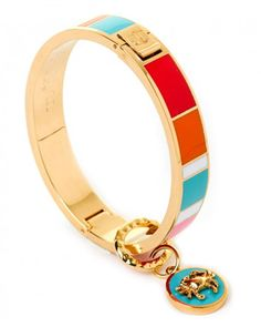 Spartina 449 Crab Striped Hinge Bangle Available at: www.always-forever.com