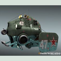 Red Star 47 by Christophe Desse