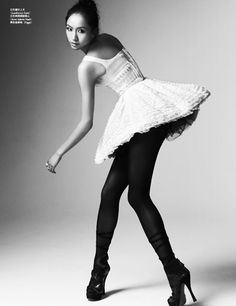 Vogue China - Princess of Ballet    photographed by Kai Z Feng