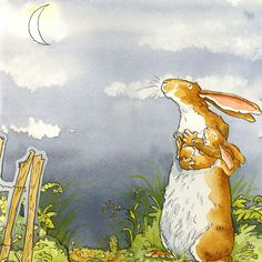 Guess how much I love you, by Anita Jeram
