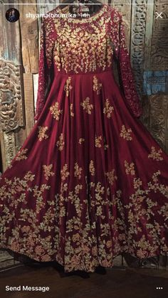 Shayamal and Bhumika anarkali - Shayamal and Bhumika anarkali Source by akhaibar - Indian Wedding Gowns, Indian Bridal Outfits, Pakistani Wedding Outfits, Indian Gowns, Wedding Dresses For Girls, Pakistani Dresses, Pakistani Bridal Couture, Shadi Dresses, Bridal Dress Design