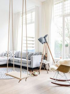 Make Your Own Playground In Your Home With Indoor Swing