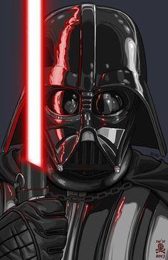 Ik heb deze foto gebruikt om een beeld te krijgen hoe Darth Vader's gezicht er ongeveer uit ziet. Ik heb het natuurlijk niet precies na gedaan, maar ik heb een eigen versie van hem gemaakt