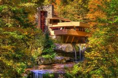 Frank Lloyd Wright's Fallingwater tours let you experience the Laurel Highlands…