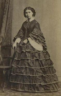 CDV-A-woman-wearing-a-layered-hooped-dress-c-1860