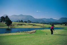 Erinvale Golf Club in Somerset West, Cape Town. Having proudly hosted the World Cup of Golf in 1996 and twice the SAA open of Golf, Erinvale falls . Famous Golf Courses, Public Golf Courses, St Andrews Golf, Coeur D Alene Resort, Augusta Golf, Somerset West, Martin County, Golf Course Reviews, Golf Estate