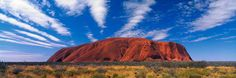 Uluru/Ayers Rock over 5 miles around. Always wanted to see this.