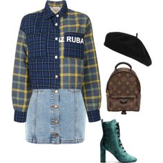 Untitled #5780 by punker-21 on Polyvore featuring polyvore, fashion, style, Natasha Zinko, Topshop, Yves Saint Laurent, Louis Vuitton, Accessorize and clothing