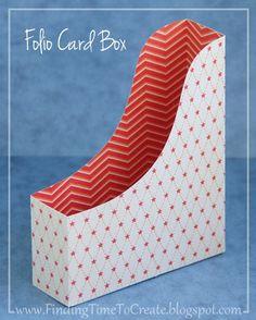 FREE CUT FILE folio-card-box