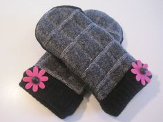 MMC0511 Mount Pleasant Wool Mittens med/lg by MichMittensbyLauri, $23.00