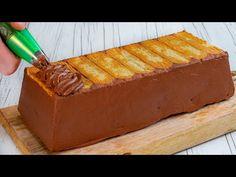 Ανακαλύψτε μια συνταγή ΧΩΡΙΣ ΨΗΜΙ, χωρίς πονοκεφάλους και πολλή σοκολάτα! - YouTube Party Desserts, Dessert Party, Party Recipes, Chocolate Flavors, Scones, Biscuits, Pudding, Baking, Cake
