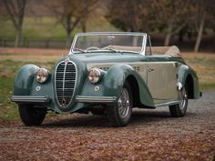 Delahaye 135M Cabriolet 1949. Maintenance/restoration of old/vintage vehicles: the material for new cogs/casters/gears/pads could be cast polyamide which I (Cast polyamide) can produce. My contact: tatjana.alic@windowslive.com