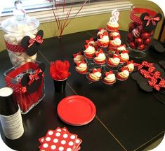 Peppermint Plum: {Minnie Mouse Party!}