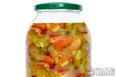 Receita de Legumes em conserva em receitas de legumes e verduras, veja essa e outras receitas aqui!