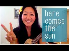 Here Comes the Sun - The Beatles // Ukulele Tutorial - YouTube