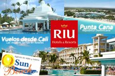 Ubicado en la #playa de Punta Cana, Republica Dominicana, el #Hotel Riu #Palace Punta Cana (Todo Incluido 24h) ofrece un servicio, confort y calidad de 5 estrellas a sus clientes. Un lujoso hotel rodeado de toda la exuberancia del #caribe. #Reserveplandeviaje  desde #Cali o en www.sunbeachcali.com