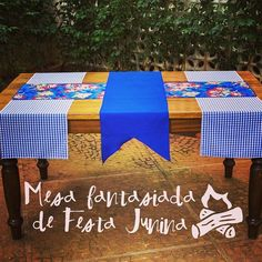 """144 Likes, 16 Comments - Festeirice (@festeirice) on Instagram: """"Vai fazer uma festa junina? Que tal transformar sua mesa com nossas passadeiras!? Elemento simples…"""""""