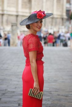 60 Easy Casual Style Outfits That Will Inspire You This Winter – Fashion New Trends Races Fashion, Fashion Outfits, Moda Formal, Race Wear, Wedding Guest Style, Fancy Hats, Wedding Hats, Wedding Attire, Outfits With Hats