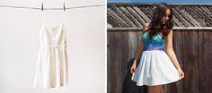 Refresca tu vestido viejo con un color nuevo. 20Ideas inspiradoras para darle nueva vida aturopa vieja