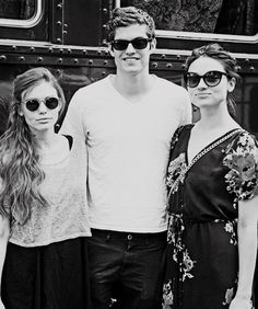 Holland Roden (Lydia Martin), Daniel Sharman (Isaac Lahey) & Crystal Reed (Allison Argent) from Teen Wolf