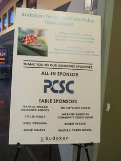 Poker tournament fundraiser ideas