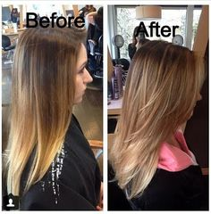 A Soft Blended balayage look. Brassfields Salon and Day Spa, University Place WA  highlights, blonde, hair, hair color