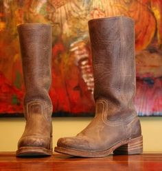 Frye Campus Boots... The favorite in my closet.