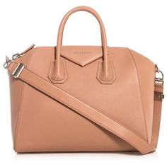 GIVENCHY Antigona medium leather tote (2 075 AUD) ❤ liked on Polyvore featuring bags, handbags, tote bags, nude, zip top tote bag, zip top tote, zip top leather tote, leather tote bags and red leather tote