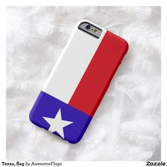 Texas, flag barely there iPhone 6 case