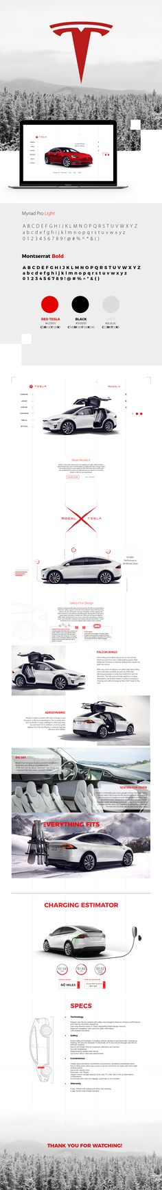 "Check out this @Behance project: ""TESLA // website redesign"" https://www.behance.net/gallery/46758587/TESLA-website-redesign"