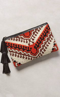 Kilim Print Pouch #anthrofave