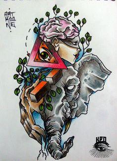 COLLAGE ARTKPONE CAPISCE!!!  :::: #ARTKPONE #BOGOTA #TATTOO #TATUAJE #KPO #LUXE #IMAGINERIA