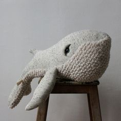 Giant Whale Soft Toy