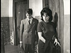 Anna Magnani ed Ettore Garofolo in Mamma Roma, 1962