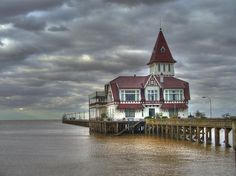 """Take a walk around the river coast and you'll find the """"Fisherman's club"""" (Club de Pescadores). Nothing says Buenos Aires like the Rio de la Plata. (buenos aires) #travelcolorfully"""