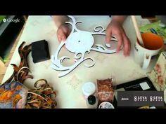 #МК Дианы Январевой-часы в леденцовой технике. Ручная работа