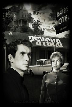 Anthony Perkins & Janet Leigh ~ Psycho